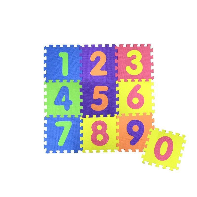 Pěnová podložka puzzle - Čísla