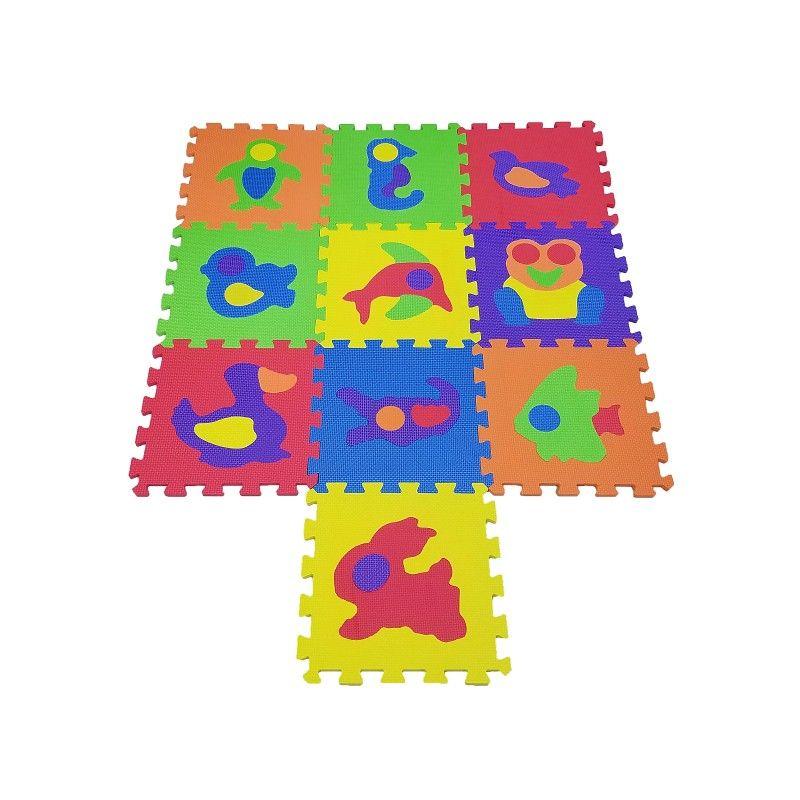 Pěnová podložka puzzle - Zvířátka