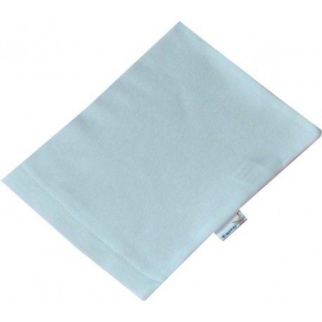 ESITO Žínka bavlna úplet Jersey bílá 19x14 cm
