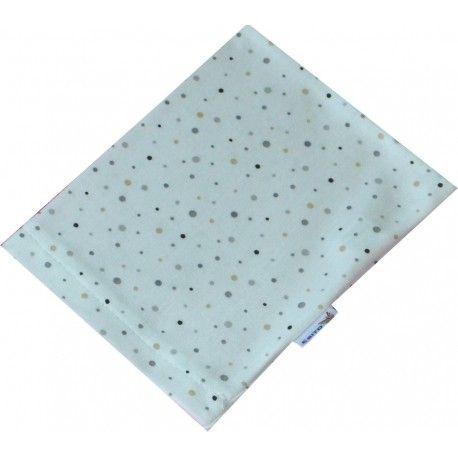 ESITO Žínka bavlna úplet Jersey puntík jemný béžový 19x14 cm