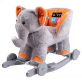 Houpací hračka s melodií a kolečky PlayTo sloník