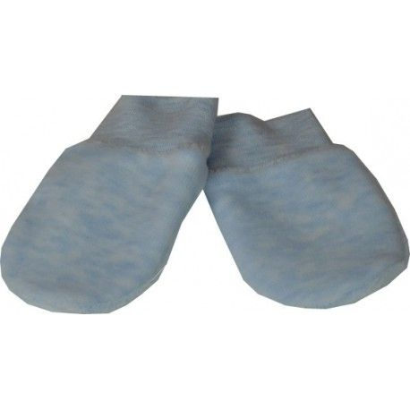 ESITO Rukavice plyš melír modrá melír 68