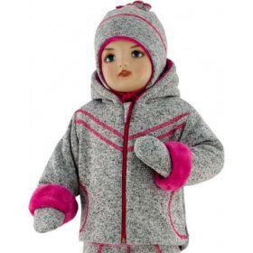 ESITO Dětská zimní bunda Oliver vel. 56 - 68 malinová 56