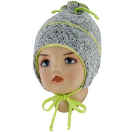 ESITO Dětská zimní čepice Oliver zelená S