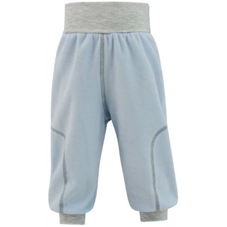 ESITO Dětské jarní kalhoty Adam vel. 56 - 68 modrá 56
