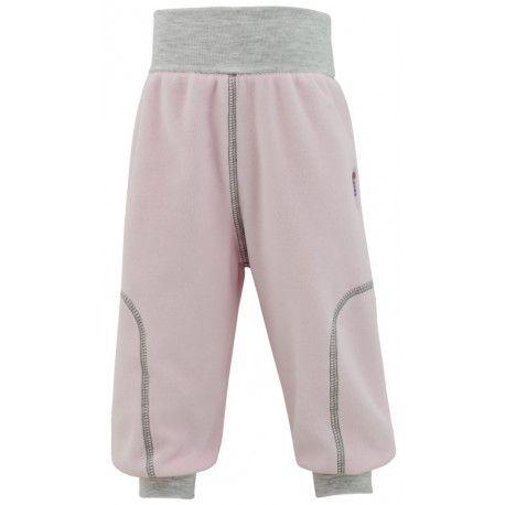 ESITO Dětské jarní kalhoty Adam vel. 56 - 68 růžová 68