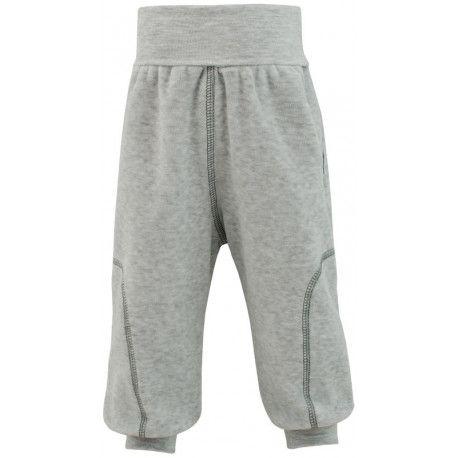 ESITO Dětské jarní kalhoty Adam vel. 56 - 68 šedá melír 68