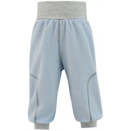 ESITO Dětské jarní kalhoty Adam vel. 74 - 86 modrá 80