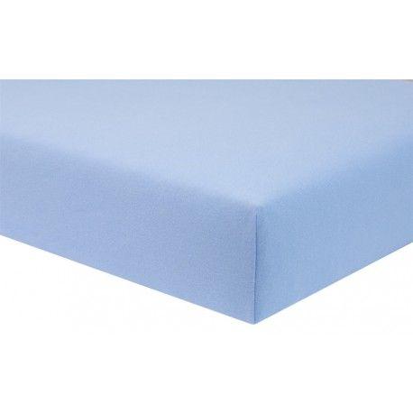 ESITO Dětské prostěradlo Jersey 60 x 120 cm modrá 60x120 cm