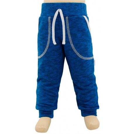 ESITO Dětské tepláky vel. 122 - 140 modrá 134