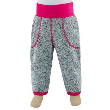 ESITO Dětské zimní kalhoty Oliver vel. 56 - 68 malinová 56
