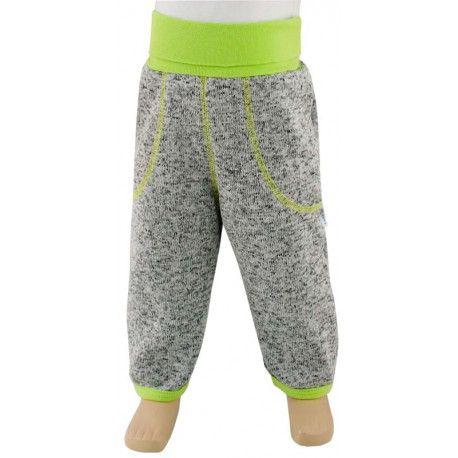 ESITO Dětské zimní kalhoty Oliver vel. 74 - 86 zelená 74