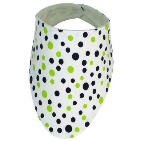 ESITO Slintáček bavlna puntík puntík zelená 0 - 3 roky
