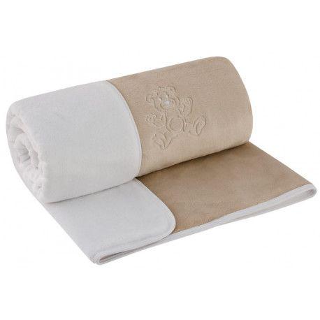 ESITO Dětská deka dvojitá Magna latte / bílá 75 x 100 cm