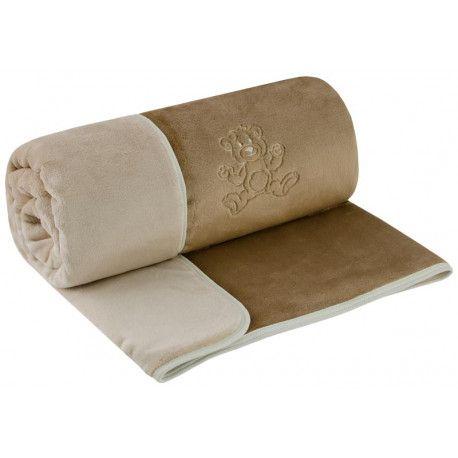 ESITO Dětská deka dvojitá Magna oříšková / latte 75 x 100 cm