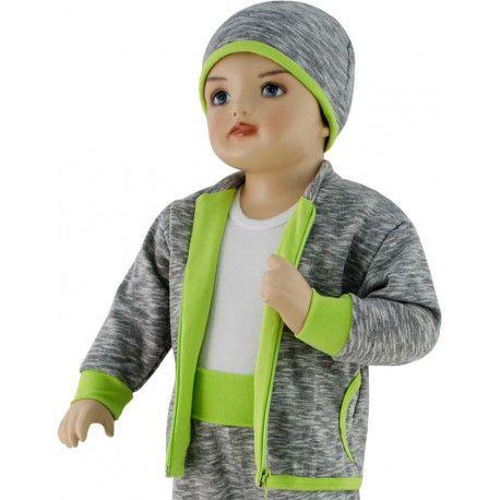 ESITO Dětská mikina David vel. 56 až 68 zelená 56