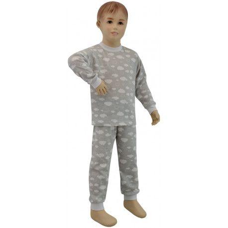 ESITO Dětské pyžamo šedý obláček vel. 80 - 110 obláček šedá 80