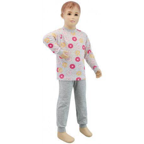 ESITO Dívčí pyžamo žlutý donut vel. 92 - 110 donut žlutá 104
