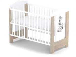 Dřevěná postýlka Baby sky Ella