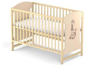 Dřevěná postýlka Baby sky Miki