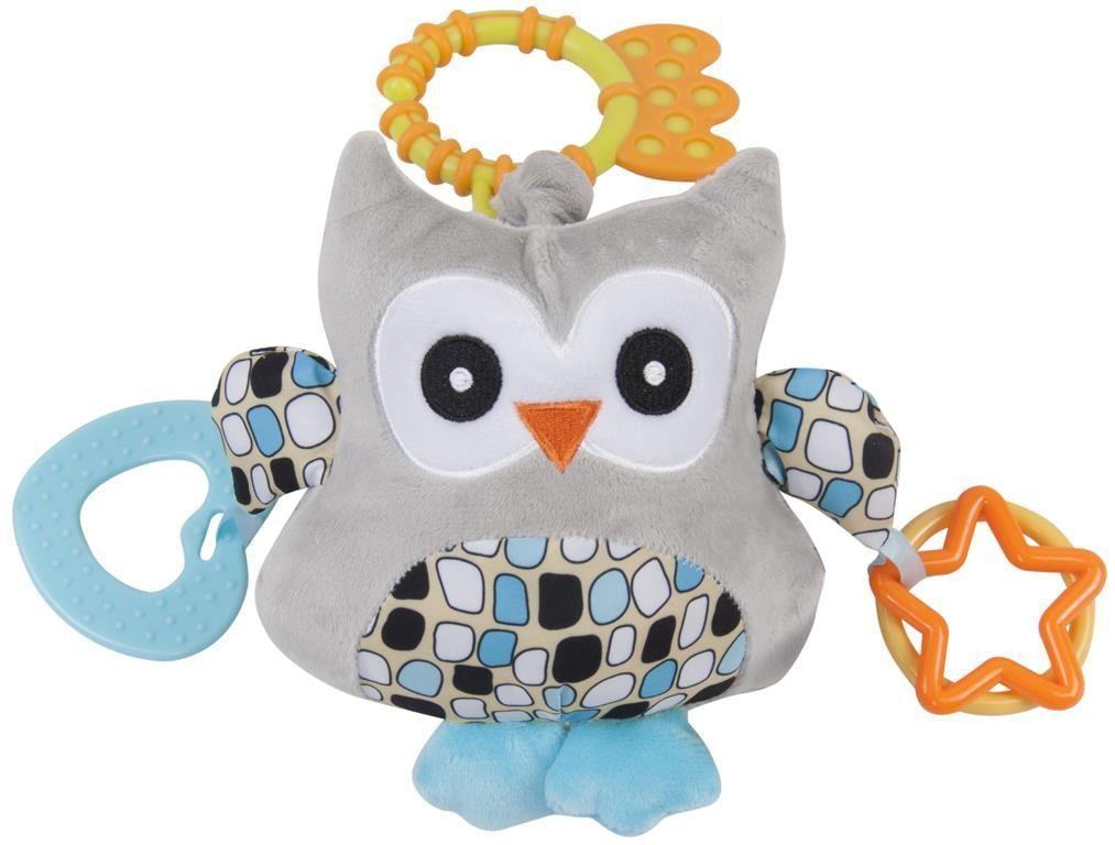 Edukační hračka s vibracemi a melodíí sovička, B11.007 Sunbaby