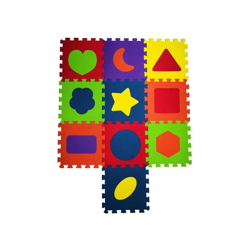 COSING Pěnová podložka puzzle - Tvary 10ks