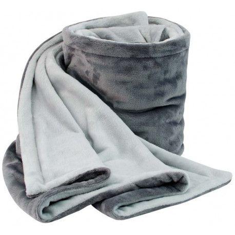 ESITO Dětská deka dvojitá Kristýna sv. šedá / stříbrná 110 x 140 cm