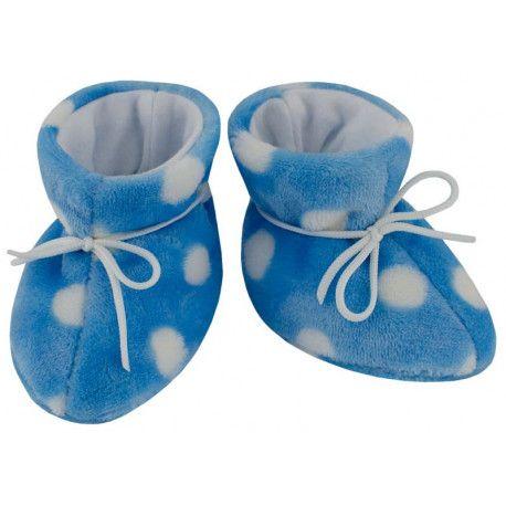 ESITO Kojenecké botičky Magna Puntík modrá 2 - 5 měsíců