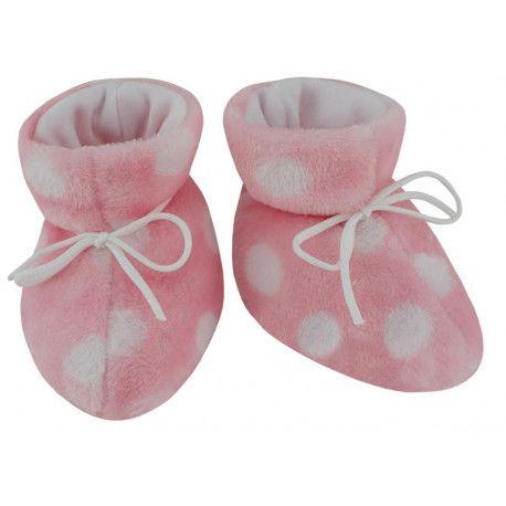 ESITO Kojenecké botičky Magna Puntík růžová 2 - 5 měsíců