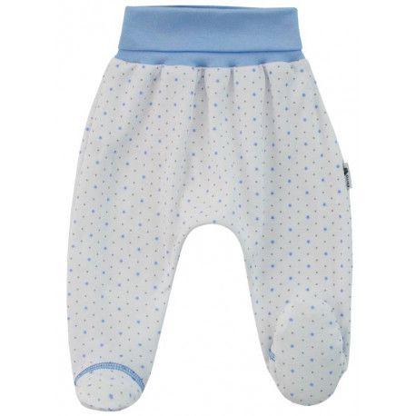 ESITO Polodupačky bavlna Hvězdička vel. 56 až 68 modrá 56