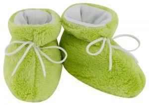 ESITO Kojenecké botičky Lara velké zelená 2 - 5 měsíců