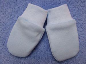 ESITO Rukavice bavlna jednobarevné modrá 68