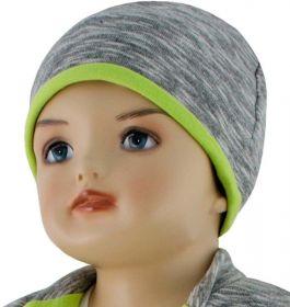 ESITO Dětská čepice David zelená 74